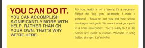 Live Better Stronger Website